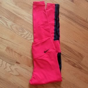 Nike Dry Fit Athletic leggings. Like Brand New! Beautiful bright color!